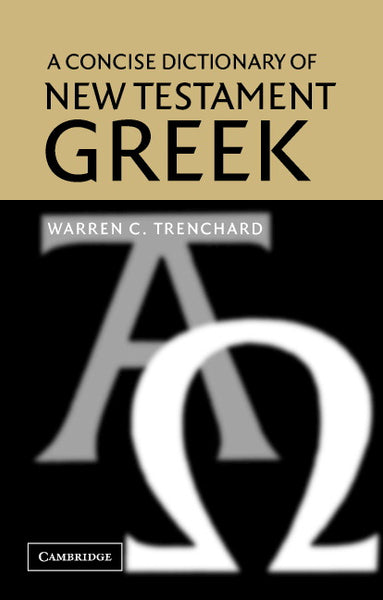 Image of A Concise Dictionary of New Testament Greek other
