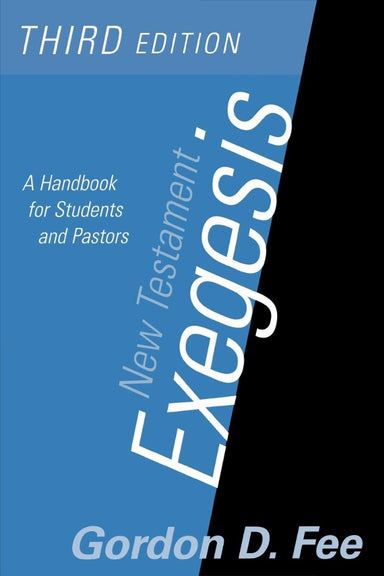Image of New Testament Exegesis: A Handbook for Students and Pastors other
