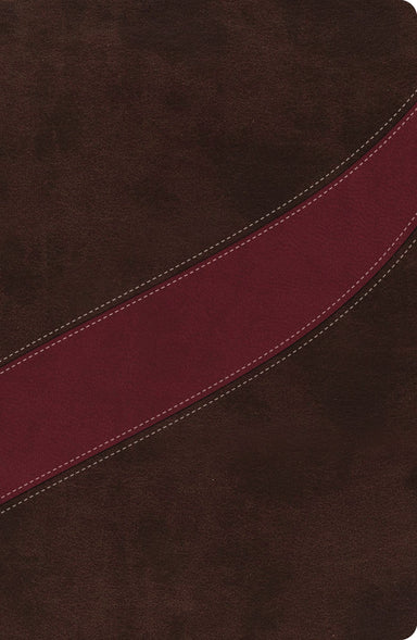Image of NASB MacArthur Study Bible: Cranberry/Earth Brown, Imitation Leather other