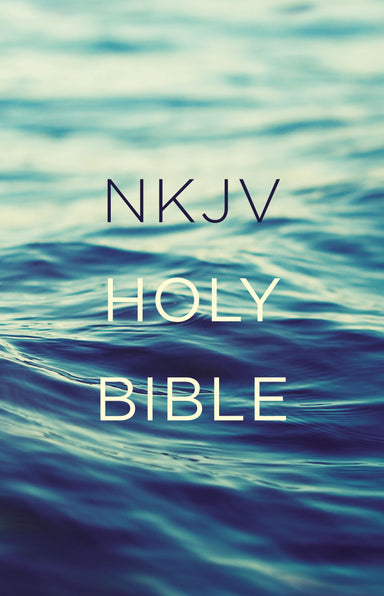 Image of NKJV Outreach Bible Blue Paperback 30 Day Reading Plan ABCs of Salvation Book Introductions 8pt Text Bible other