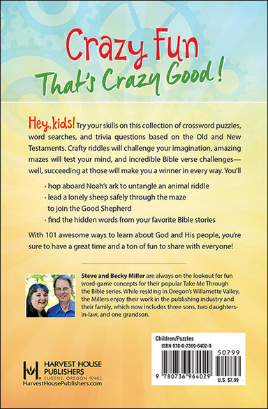 Image of 101 Awesome Bible Puzzles for Kids other