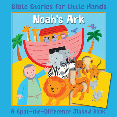 Image of Noah's Ark A Spot-the-Difference Jigsaw Book other