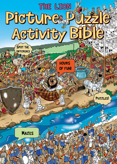 Image of The Lion Picture Puzzle Activity Bible other