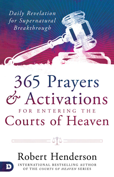 Image of 365 Prayers and Activations for Entering the Courts of Heaven other