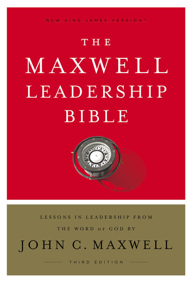 Image of NKJV, Maxwell Leadership Bible, Third Edition, Hardcover, Comfort Print other