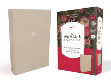 Image of The NKJV, Woman's Study Bible, Cloth over Board, Cream, Red Letter, Full-Color Edition other