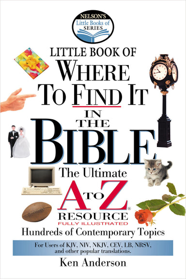 Image of Little Book of Where to Find It in the Bible: The Ultimate A to Z Resource other