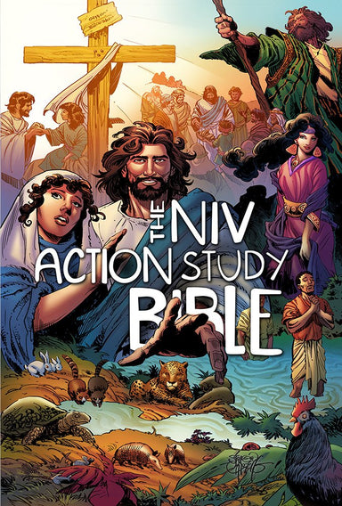 Image of The NIV Action Study Bible other