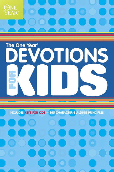 Image of The One Year Book of Devotions for Kids other