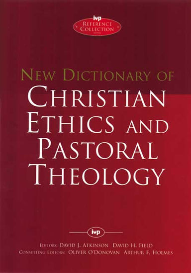 Image of New Dictionary of Christian ethics & pastoral theology other