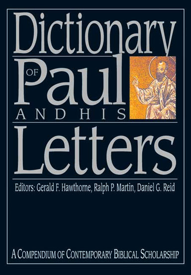 Image of Dictionary of Paul and His Letters other