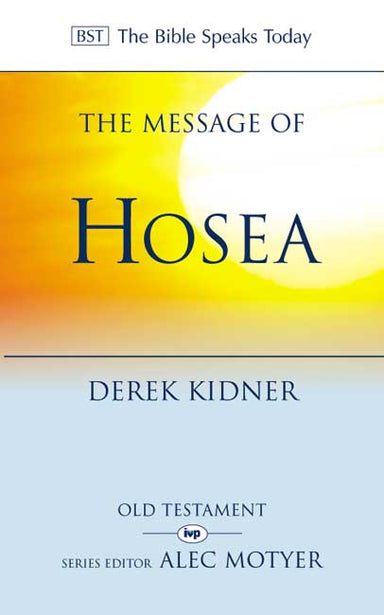 Image of The Message of Hosea other