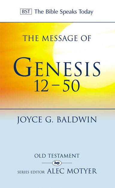 Image of The Message of Genesis 12-50 other
