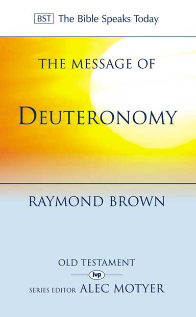 Image of The Message of Deuteronomy other