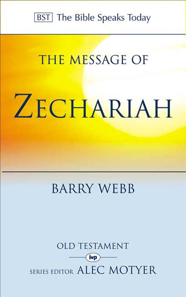 Image of The Message of Zechariah other