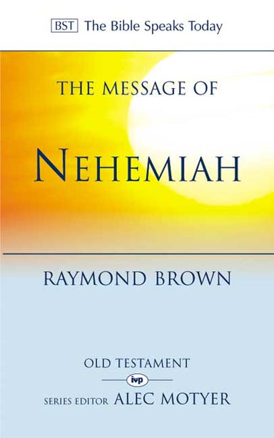 Image of The Message of Nehemiah other