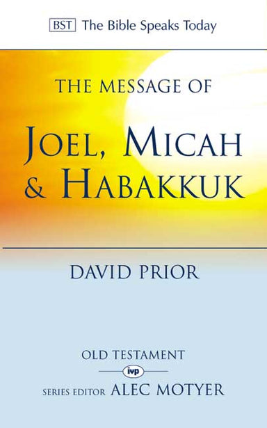 Image of The Message of Joel, Micah, Habakkuk other