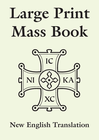 Image of Large Print Mass Book other