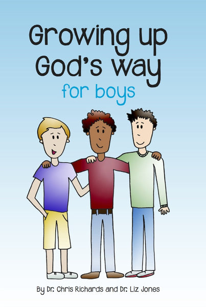 Image of Growing up God's Way: Boys other