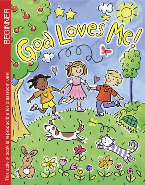 Image of God Loves Me Colouring Book other