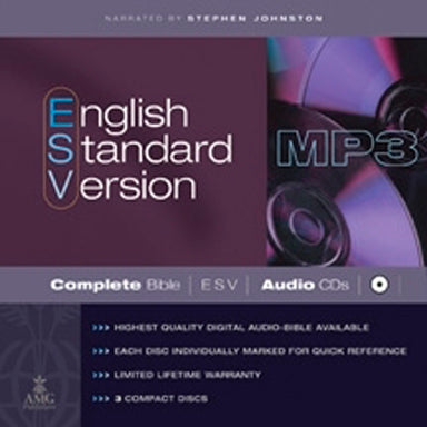 Image of ESV Audio Bible: MP3 CD other