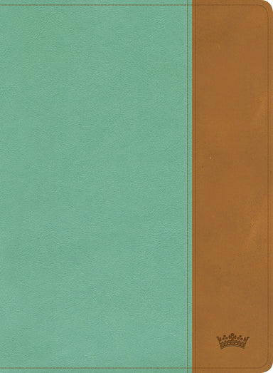 Image of CSB Tony Evans Study Bible, Teal/Earth LeatherTouch, Indexed other