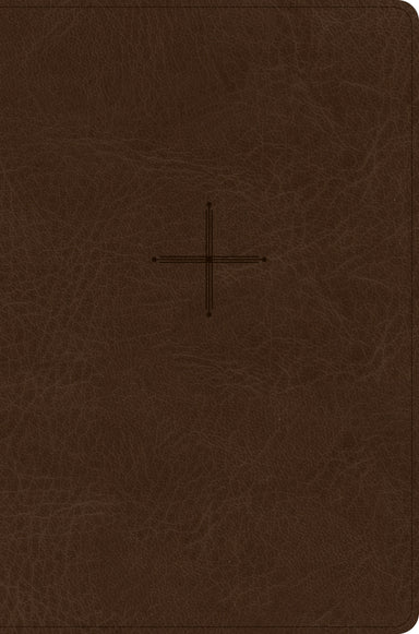 Image of CSB Every Day with Jesus Daily Bible, Brown LeatherTouch other