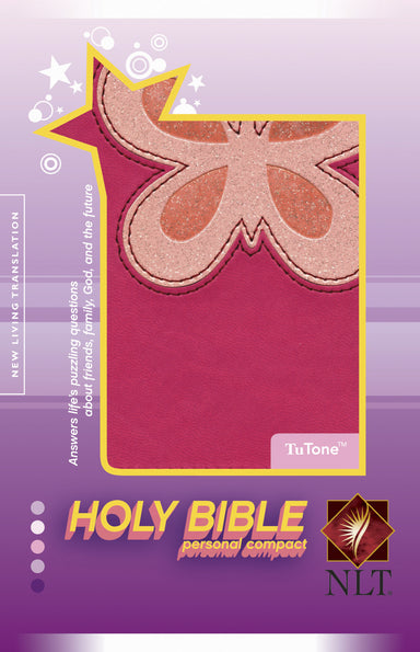 Image of NLT Personal Compact Bible: Magenta-pink Tutone, LeatherLike other