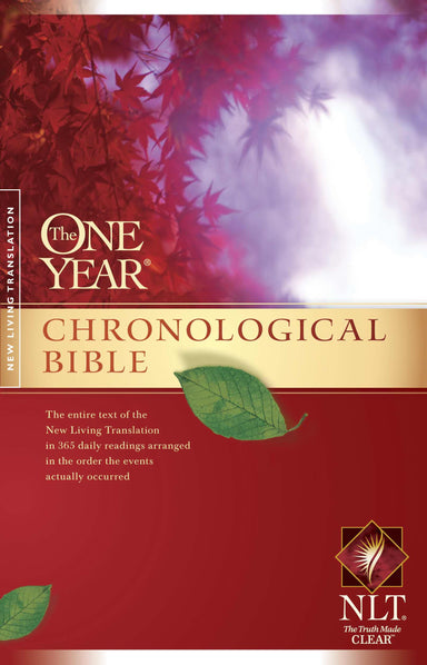 Image of NLT One Year Chronological Bible : Paperback other