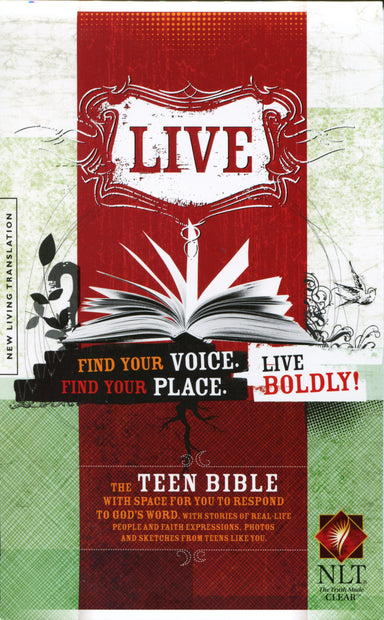 Image of NLT LIVE Teen Bible: Paperback other