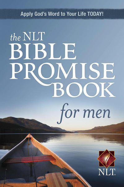 Image of NLT Bible Promise Book for Men other
