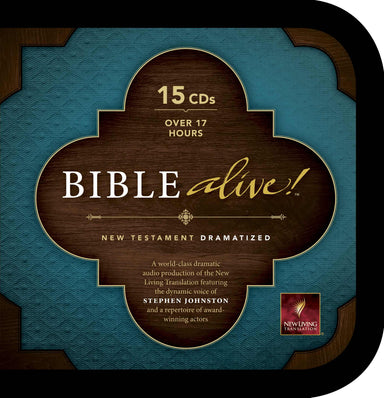 Image of NLT Bible Alive New Testament Audio CD other