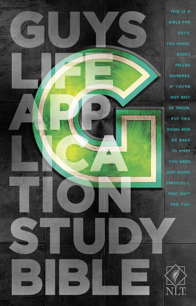 Image of NLT Guys Life Application Study Bible: Paperback other