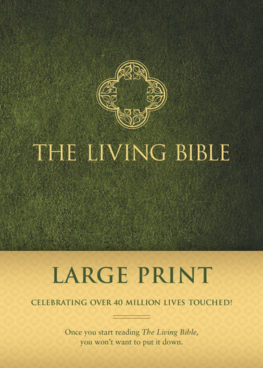 Image of The Living Bible Large Print other
