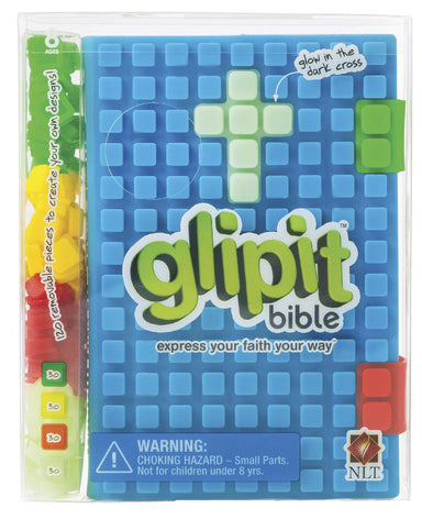 Image of NLT Glipit Bible: Blue, Customisable Silicone Cover other