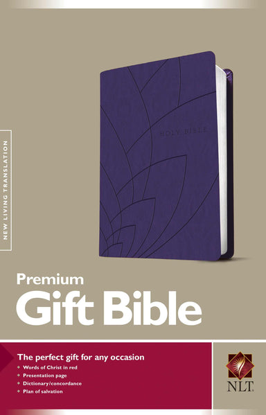 Image of NLT Gift, Bible, Purple, Imitiation Leather, Presentation Page, Concordance, Red Letter, Ribbon Marker other