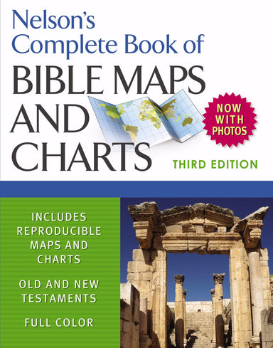 Image of Complete Book Of Bible Maps And Charts 3 other