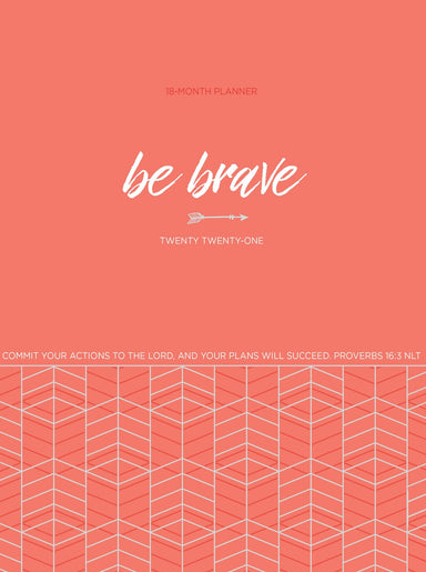 Image of 2021 18-Month Planner: Be Brave other
