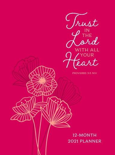 Image of 2021 12-Month Planner: Trust in the Lord other