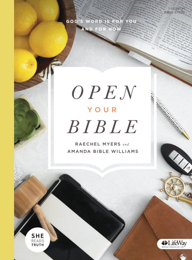 Image of Open Your Bible - Bible Study Book other