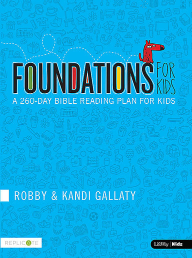 Image of Foundations for Kids: A 260-day Bible Reading Plan for Kids other