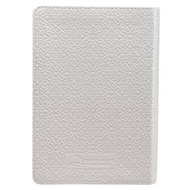 Image of White Faux Leather Compact King James Version Bible other