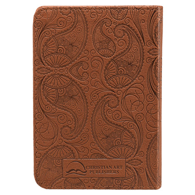 Image of Tan Faux Leather King James Version Pocket Bible other