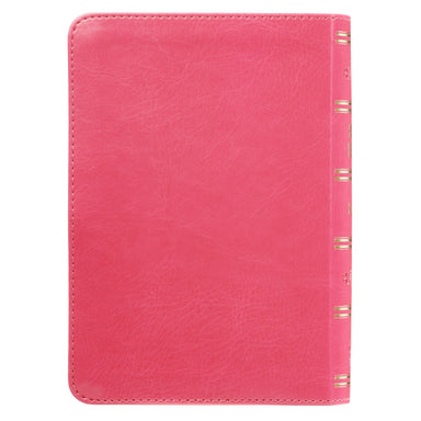 Image of KJV Compact Large Print Lux-Leather Pink other