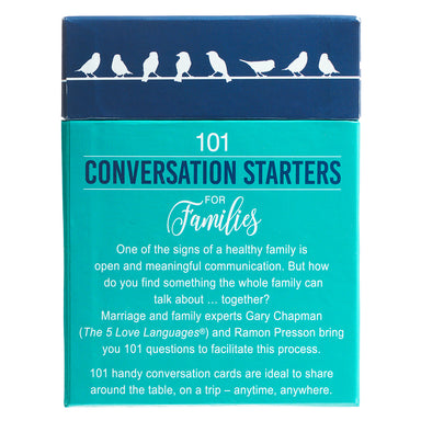 Image of 101 Conversation Starters for Families other