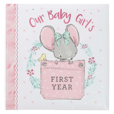 Image of Our Baby Girl's First Year Memory Book other