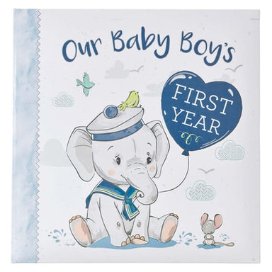 Image of Our Baby Boy's First Year Memory Book other