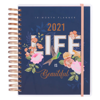 Image of 2021 Life is Beautiful 18-Month Planner For Women other