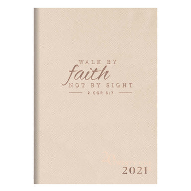 Image of 2021 Walk By Faith My Yearly Planner - 2 Corinthians 5:7 other