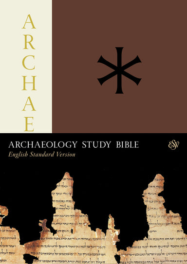 Image of ESV Archaeology Study Bible, Brown, Hardback, Study Notes, Colour Photos, Maps, Timelines other
